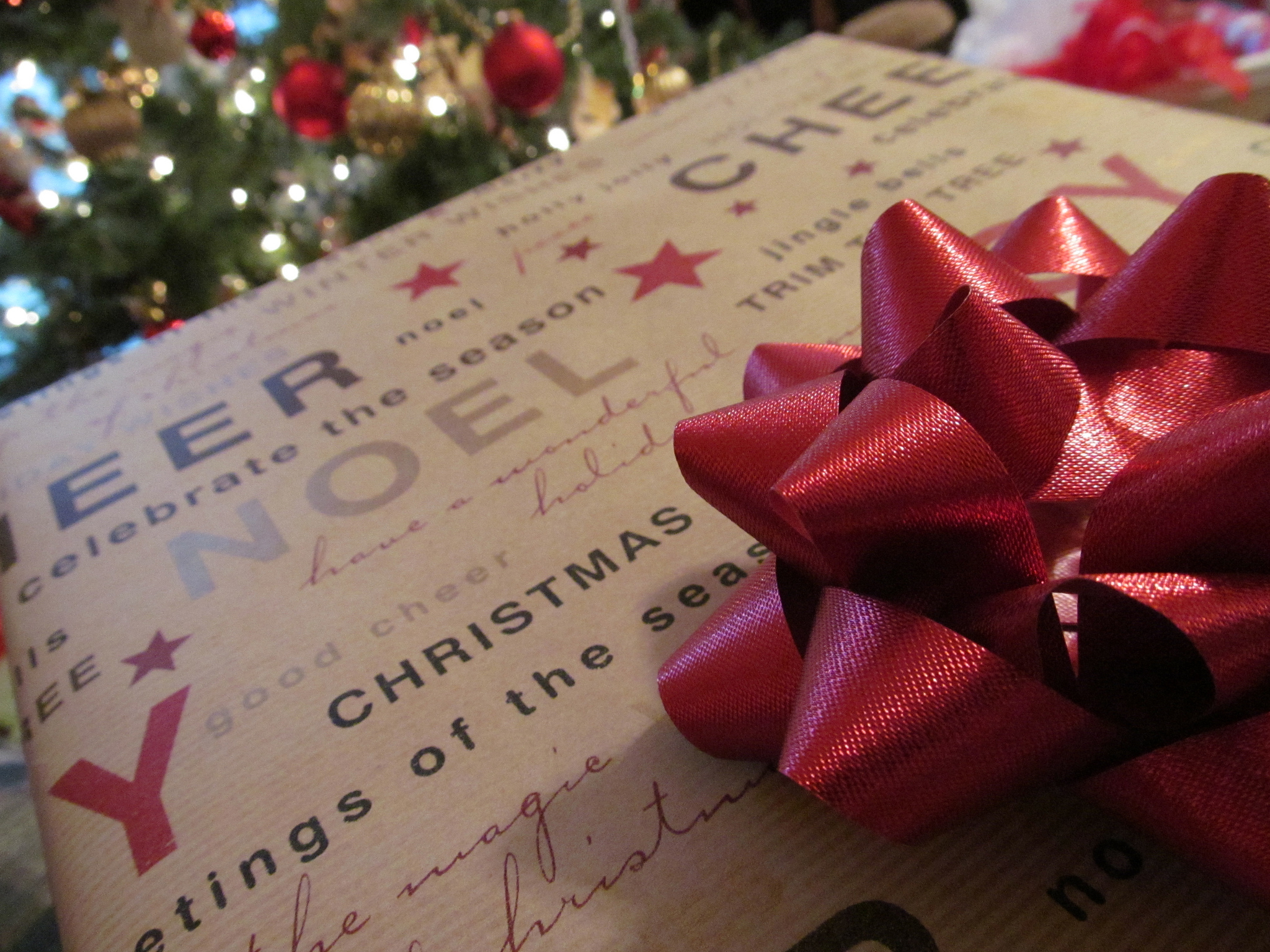 A personalised gift will make for a pleasant surprise this Christmas ... photo by CC user mac9416 on Flickr