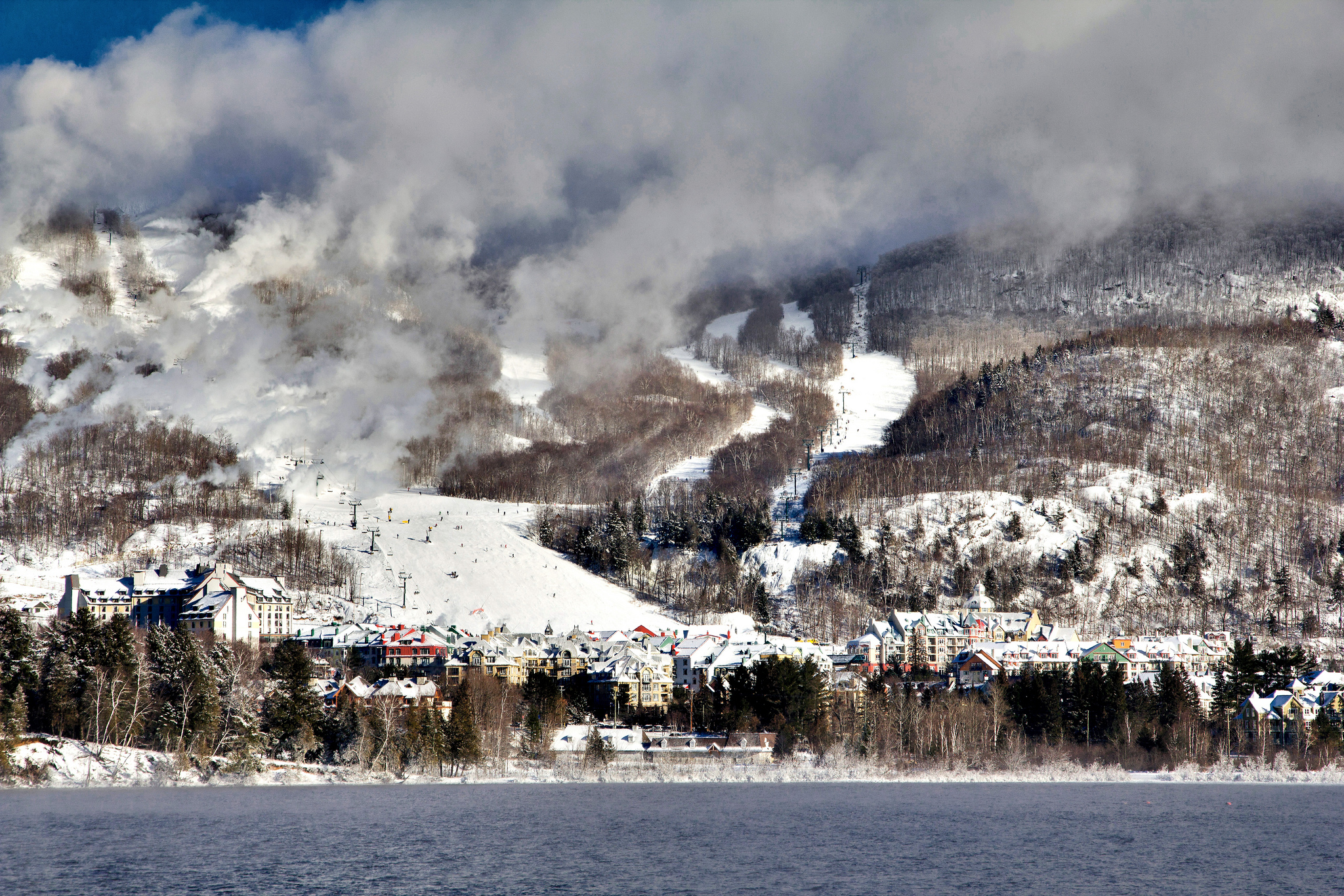 The magnificent ski slopes are a big must do in Mont Tremblant ... photo by CC user arturstaszewski on Flickr