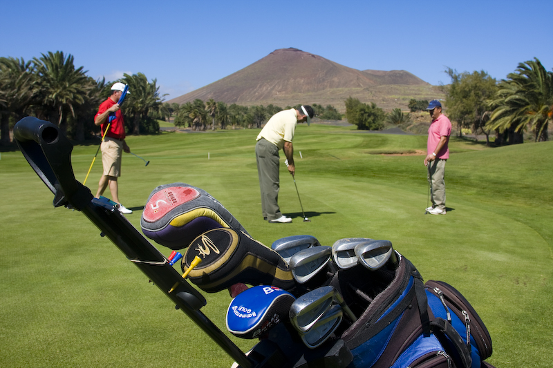 Golf clubs make Cool Gifting Ideas when it comes to getting something great for your hubby ... photo by CC user Sands Beach Lanzarote on Flickr