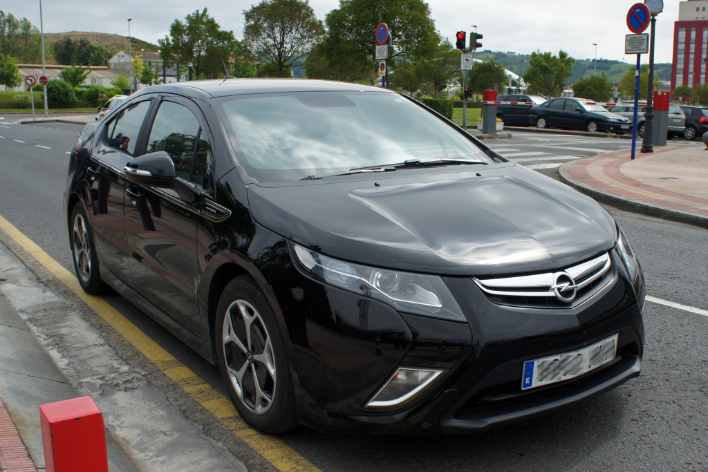 Opel Ampera in Bilbao, Spain